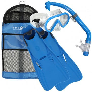 Aqua Lung SANTA CRUZ Junior Mask, Snorkel & Fins Set