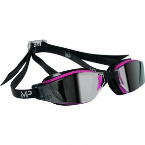 Michael Phelps XCEED Mirror Lens Women's Goggles Black & Pink