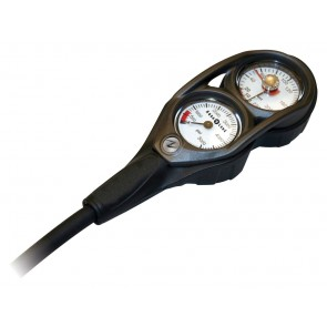 Aqualung Submersible Pressure Gauge (SPG) + Depth Gauge Console