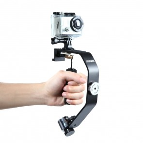 Digipower Action Camera Stabilizer for GoPro Hero Cameras, Digital Cameras and Smartphones