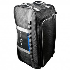 Explorer Mesh Roller 69L Travel Bag Front Side
