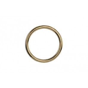 "Innovative Scuba Concepts 2"" Solid Brass Ring"
