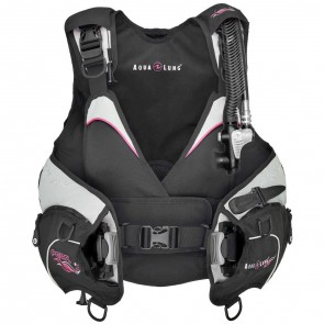 Aqualung Pearl BCD Black & Pink Front