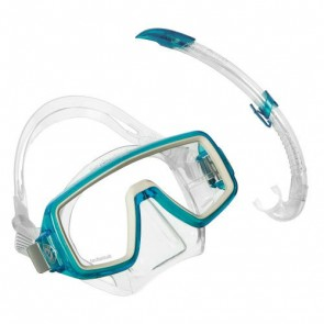 Aqua Lung Planet Junior LX + Airflex LX Snorkeling Combo Set for Kids Aqua