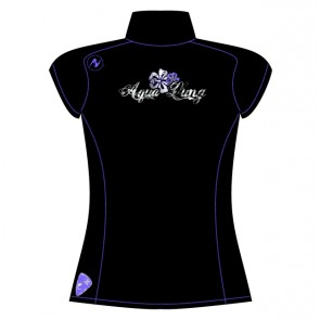 Aqua Lung Polyolefin Women Short Sleeve Rash guard