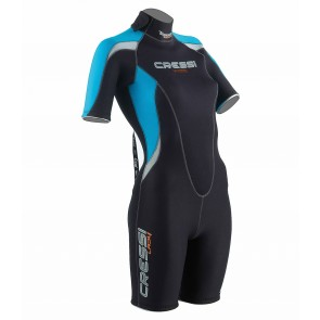Cressi Med Lady 2.5mm Shorty Wetsuit