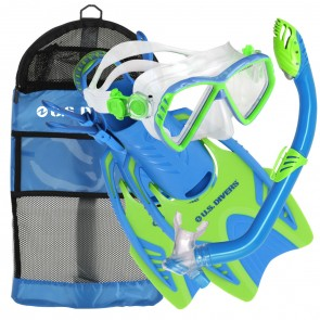 Aqua Lung Regal Junior Mask, Snorkel & Fins Set