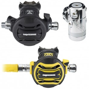 Apeks XTX50 Regulator(DIN) with XTX 50 Octopus Regulator Package  Set