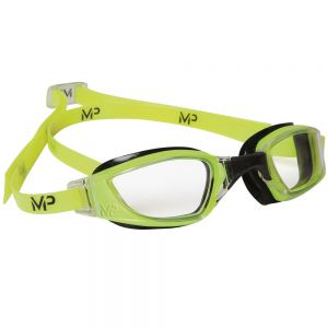 Michael Phelps XCEED Clear Lens Men's Goggles Black & Yellow