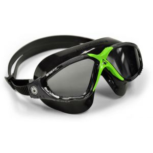 Aqua Sphere VISTA Dark Lens Adult Goggles Green & Black