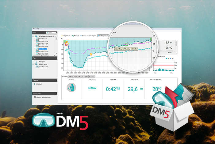 Suunto dm5 diving plan software